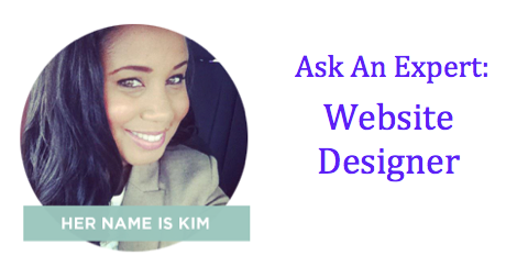 Ask An Expert Kim Website Designer