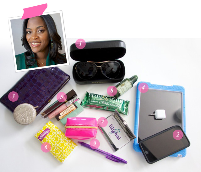 What's In Your Bag Kristen Henderson