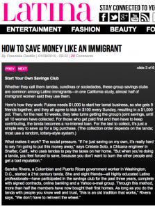 Latina Magazine Family Loan Image