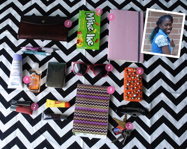 What's In Your Bag: Rocquelle of Consider Me Lovely