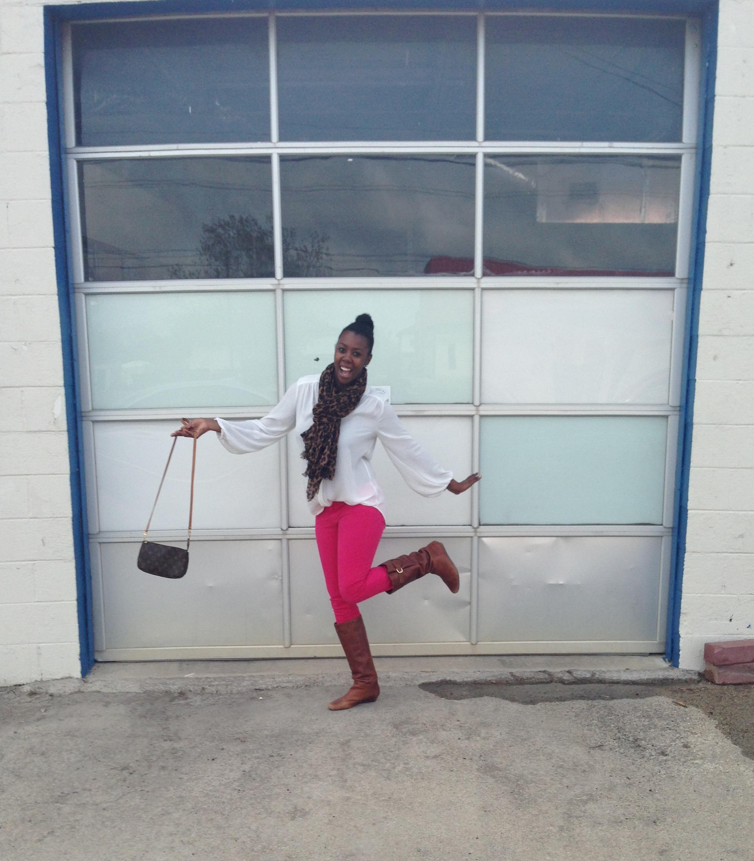 Tasha Style Me Friday Pink Jeans
