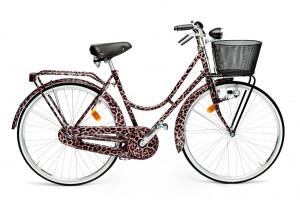 Dolce & Gabbana Leopard bicycle