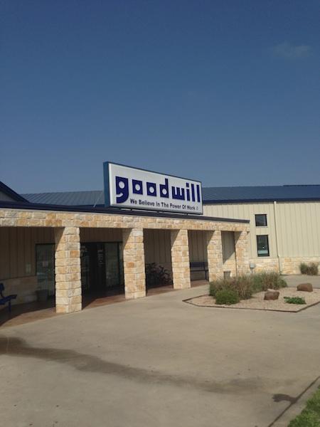 Goodwill temple texas