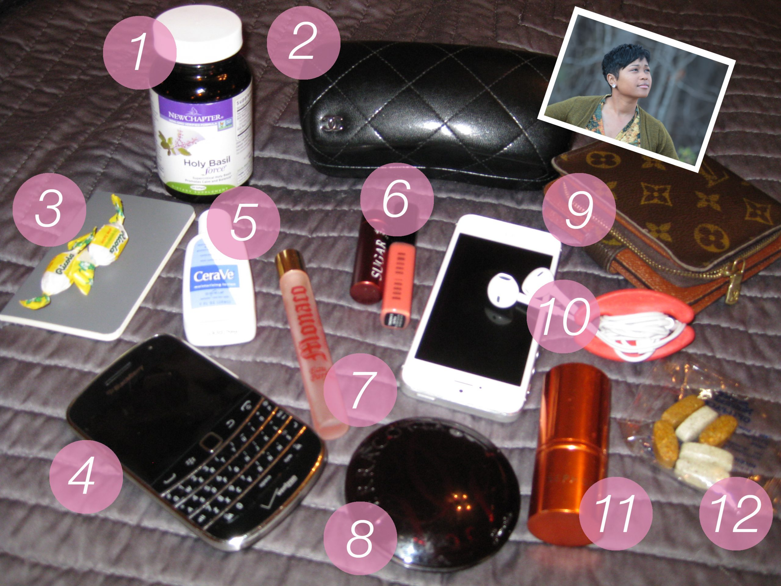 What's In Your Bag: Keisha of Hustle and Heels