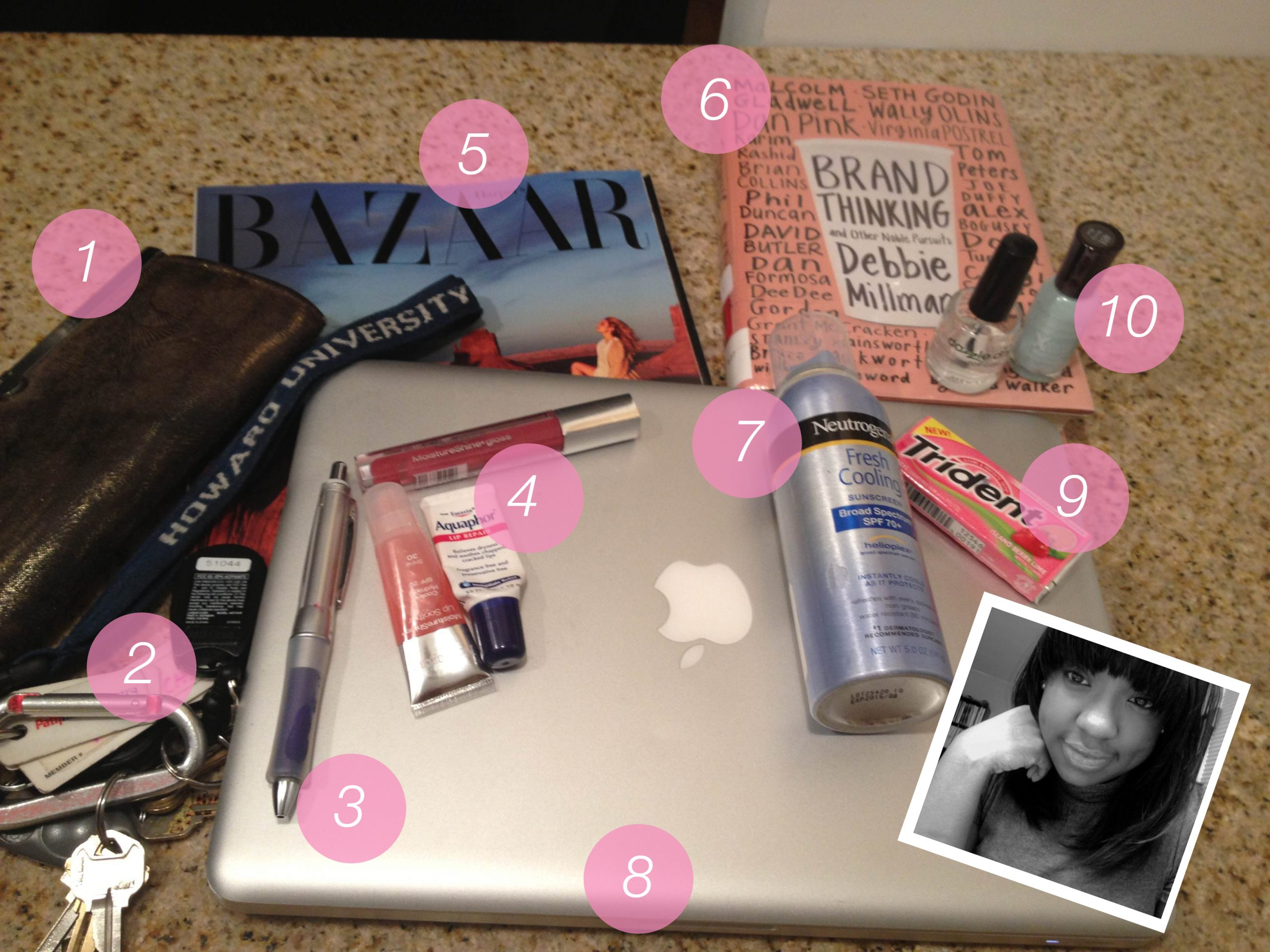 What's In Your Bag: Sakita of House of Success PR