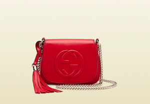 Gucci Red Crossbody mini bag