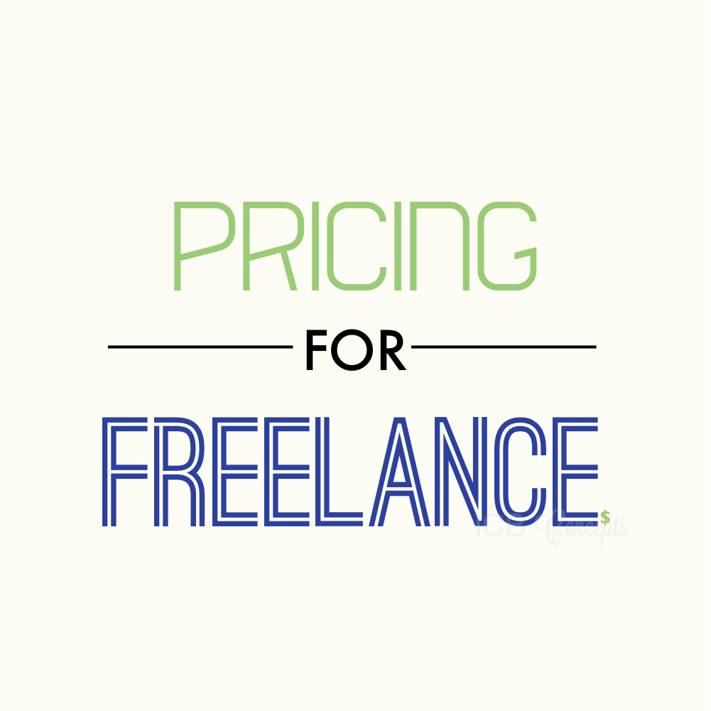 Pricing for freelance via BlogICB