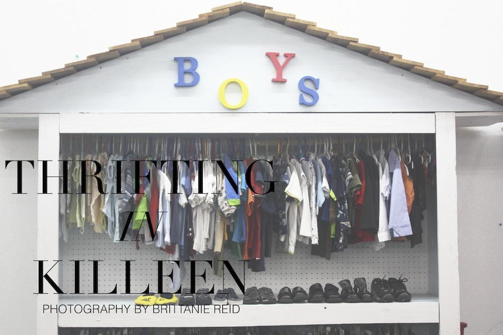 Thrifting in Killeen, Texas
