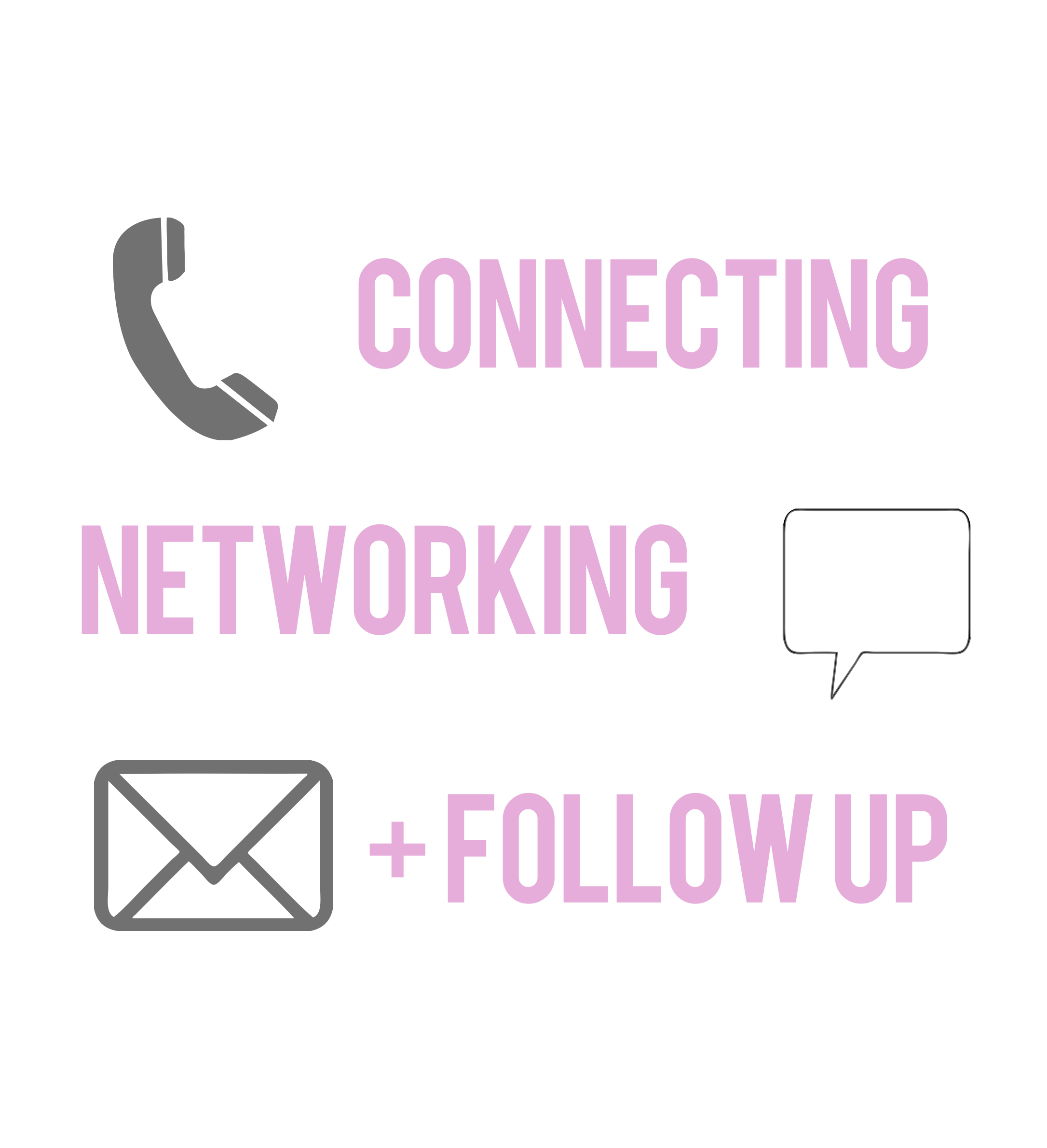 Connecting Networking Follow Up