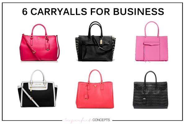 Finding the perfect carryall for the creative women entrepreneur