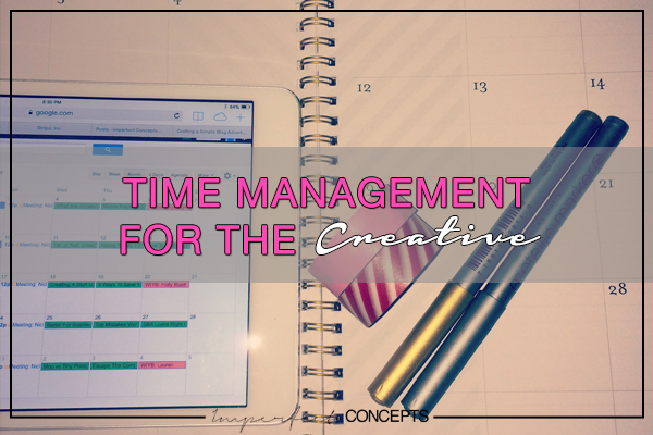 Time Management For The Creative