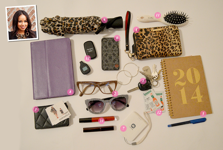 Whats In Your Bag Trina Smalls of Baby Shopaholic