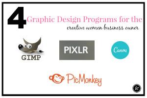 4 Graphic Design Programs