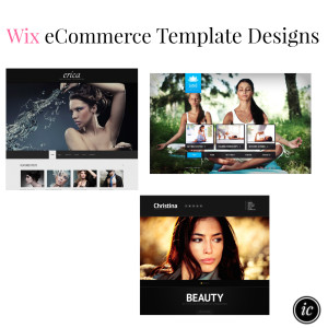 Wix eCommerce Template Designs