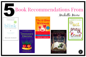5 Book Recommendations From Michelle Moore