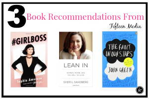 3 Book Recommendations From Fifteen Media