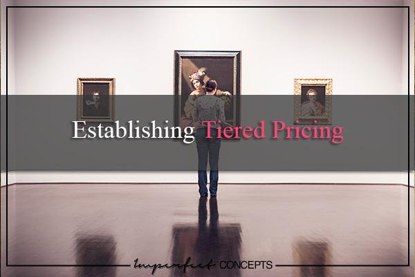 Establishing Tiered Pricing