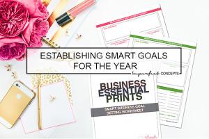 Establishing SMART Goals For The Year