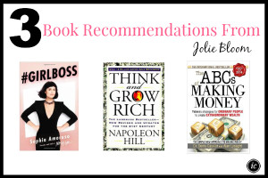 Jolie Bloom Book Recommendations