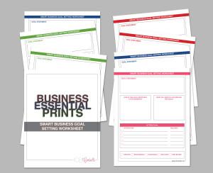 SMART Business Goal Worksheet