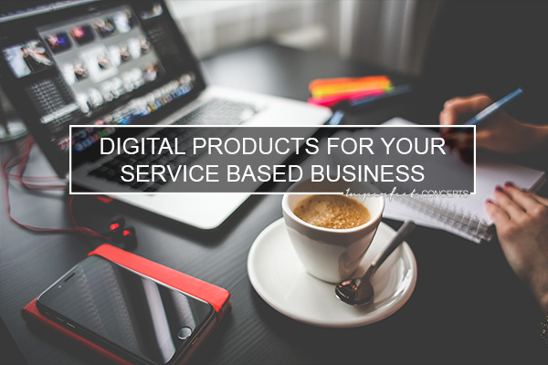 Several options of digital products that you can sell for your small business.