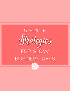 How utilizing strategies such as; forecasting, financial planning and more can help your small business on slow days.