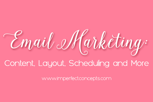 Sharing insight on how redesigning my email marketing content, layout and more boost engagement and sales.