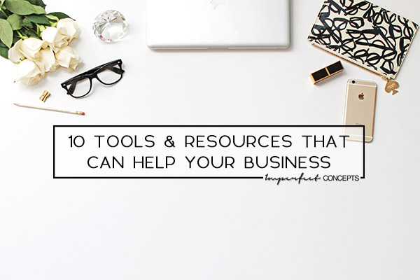 Online tools and resources that are designed to help small business owners start, scale and grow. | Imperfect Concepts