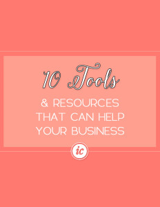 Tools and Resources ranging from Free to $500 to help small business owners grow their businesses. | Imperfect Concepts
