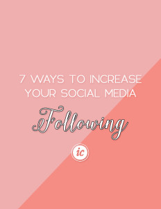 How I was able to increase my social media following, engagement and more. | Imperfect Concepts #SmallBusiness #SocialMedia