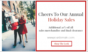 How to design sale call to action banners to help increase sales while utilizing email marketing. | Imperfect Concepts #smallbusiness #mailchimp #emailmarketing #newsletter