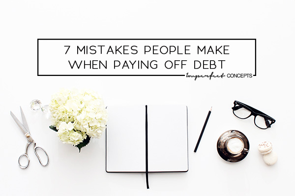 Sharing insight from what I have learned spending the last two years paying off consumer and student loan debt. | Imperfect Concepts #smallbusiness #blogging #money #studentloan