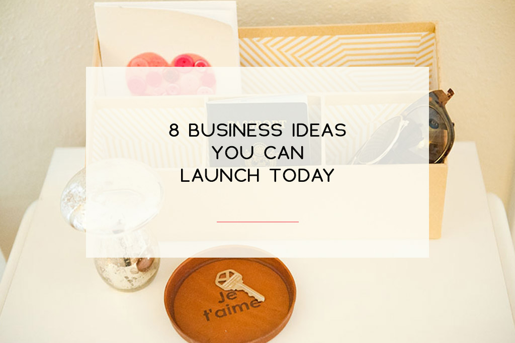 These are not the normal business ideas you read about. Here are some niche ideas to help you launch a biz today. | Imperfect Concepts