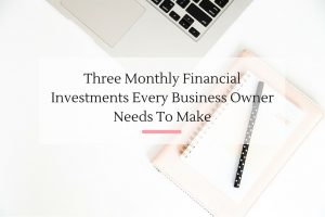 As a small business owner you need an emergency savings account, retirement fund + life insurance. | Imperfect Concepts #finances