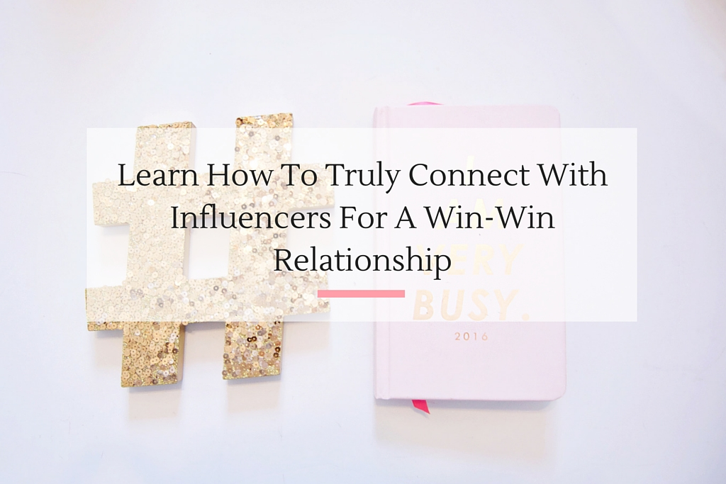 If you really want to connect with the top influencers in your industry these four tips are a must.   Imperfect Concepts