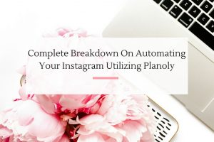 After testing and testing, finally found an Instagram automation tool that works for my small business.   Imperfect Concepts