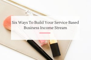 Talking about how you can establish income with eCourse, eBooks, conferences and more for your service based business. | Imperfect Concepts