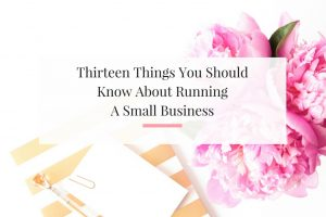 After seven years, of running a small business I have things to share.   Imperfect Concepts