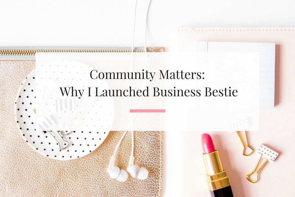 You belong in a community of fearless women business owners supporting each other. | Imperfect Concepts
