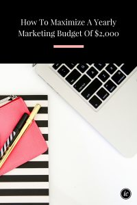 No matter the size of you budget one of these six tools can help you maximize your growth this year.   Imperfect Concepts