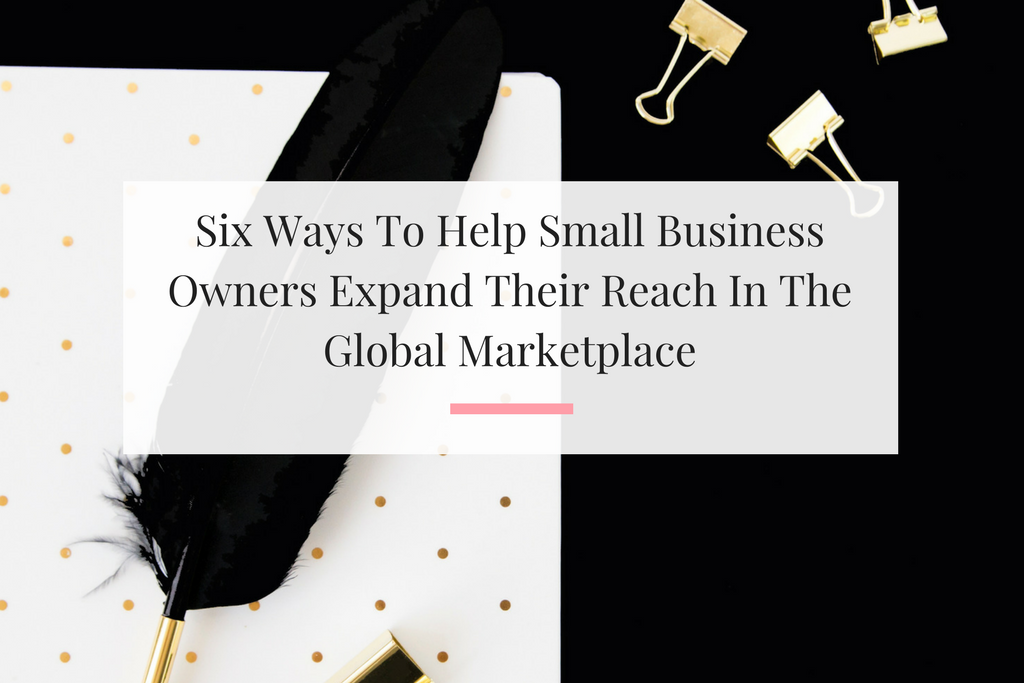 Learn how you can lend a helping hand to other business owners. | Imperfect Concepts